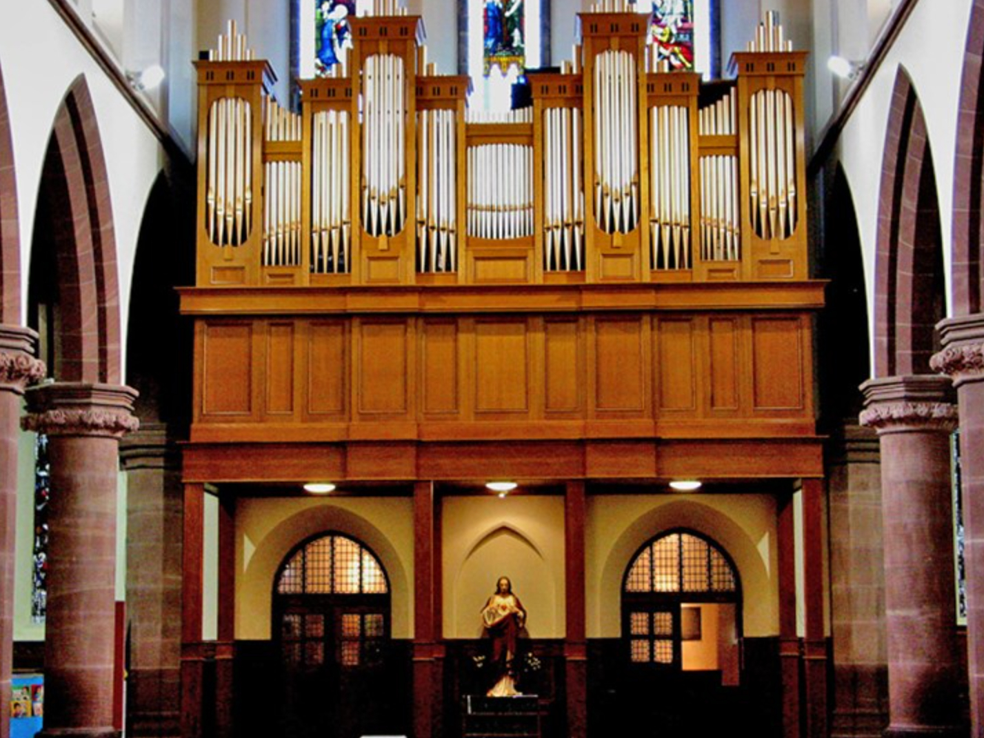 St Werburghs Church Organ