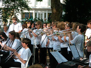Catholic High School Swing Band